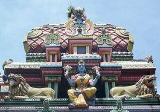 temple malabar île de la réunion